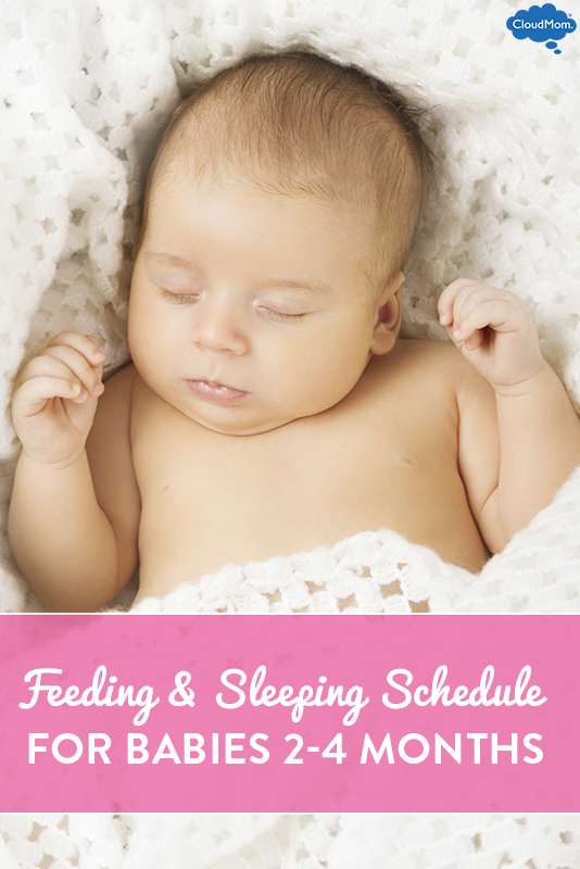 Baby Feeding And Sleeping Schedule Tfeeding 2 To 4 Month Old