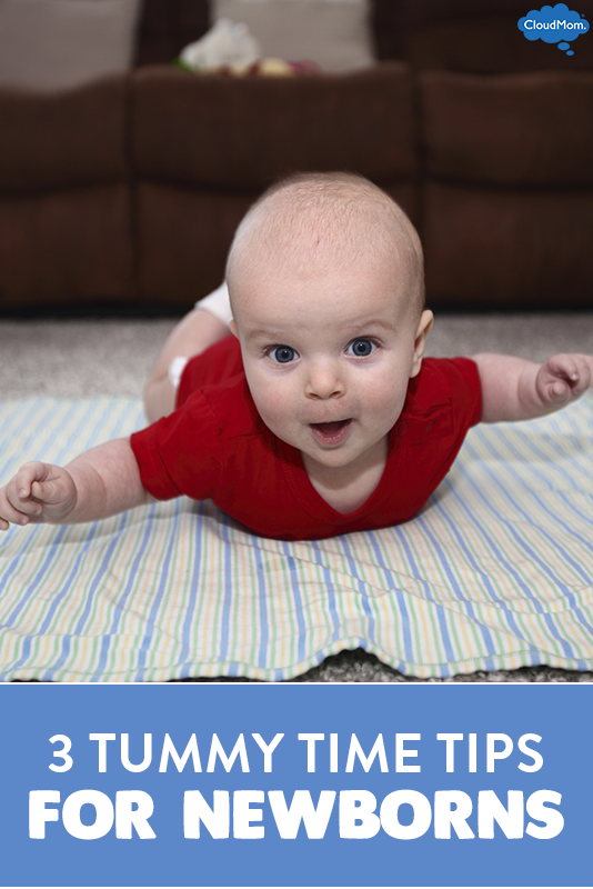 3 Tummy Time Tips For Newborns