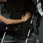 The Chicco C6 stroller.