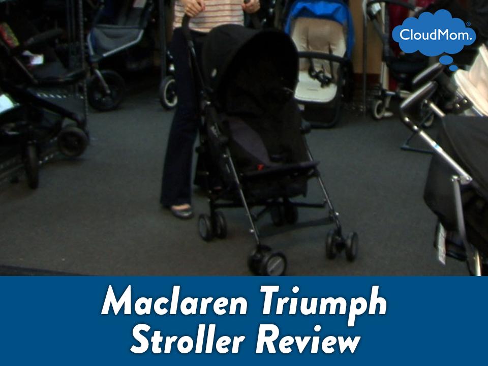 Maclaren Triumph Stroller Review | CloudMom