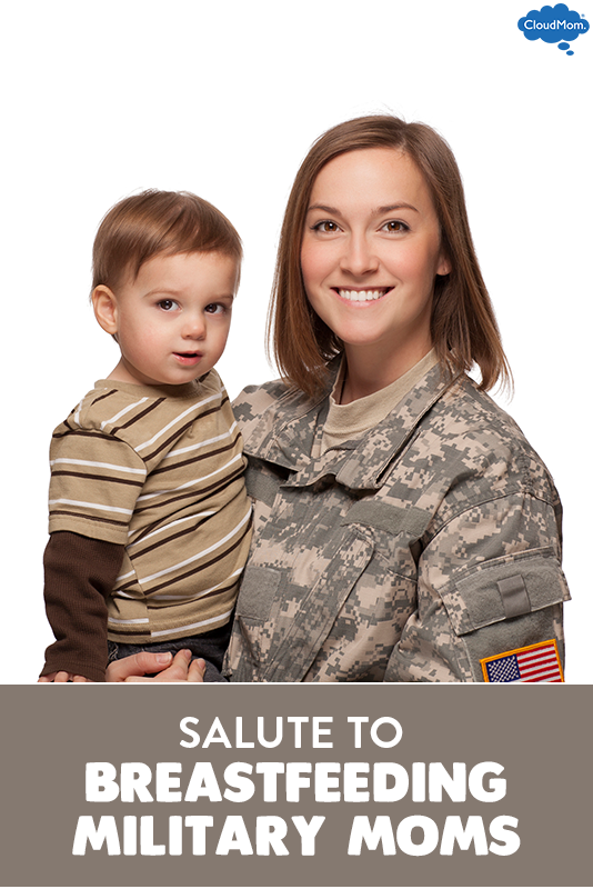 Salute to Breastfeeding Military Moms