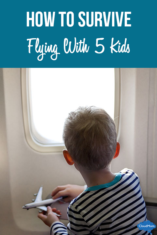 How to Survive Flying With 5 Kids