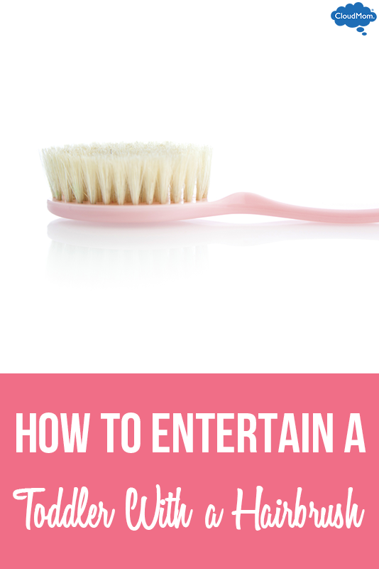 How to Entertain a Toddler With Just a Hairbrush!