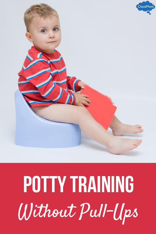 """How to Potty Train"" Part 4: Potty Training Without Pull-Ups"