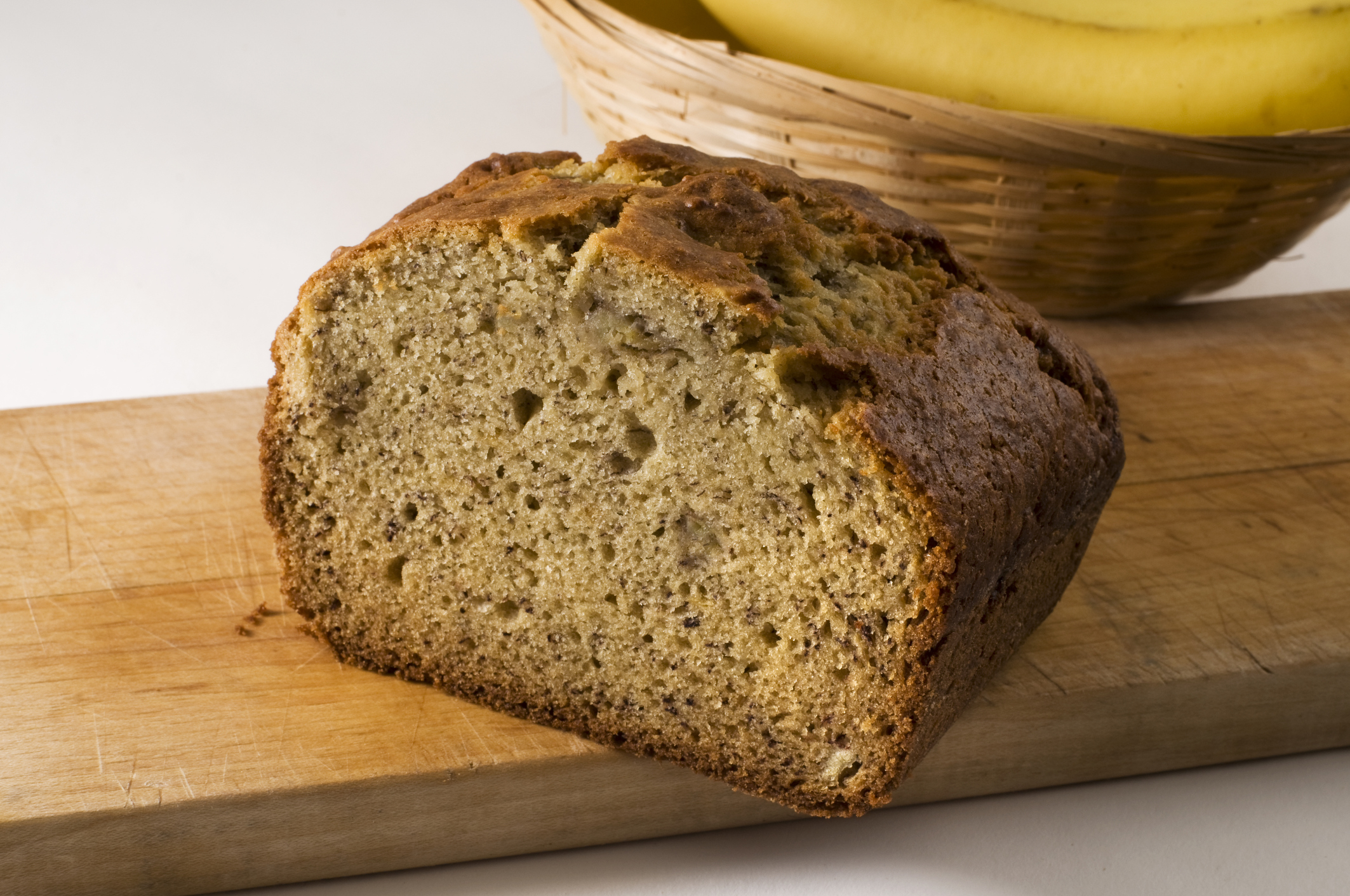 A delicious banana bread recipe.