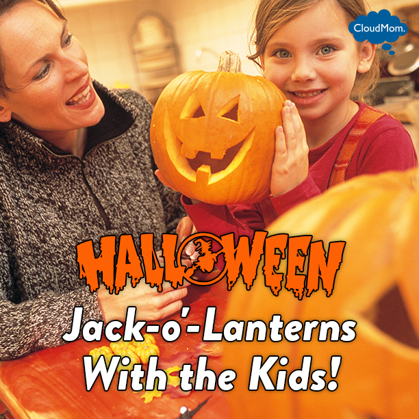 Halloween Jack-o'-Lanterns With the Kids!| CloudMom