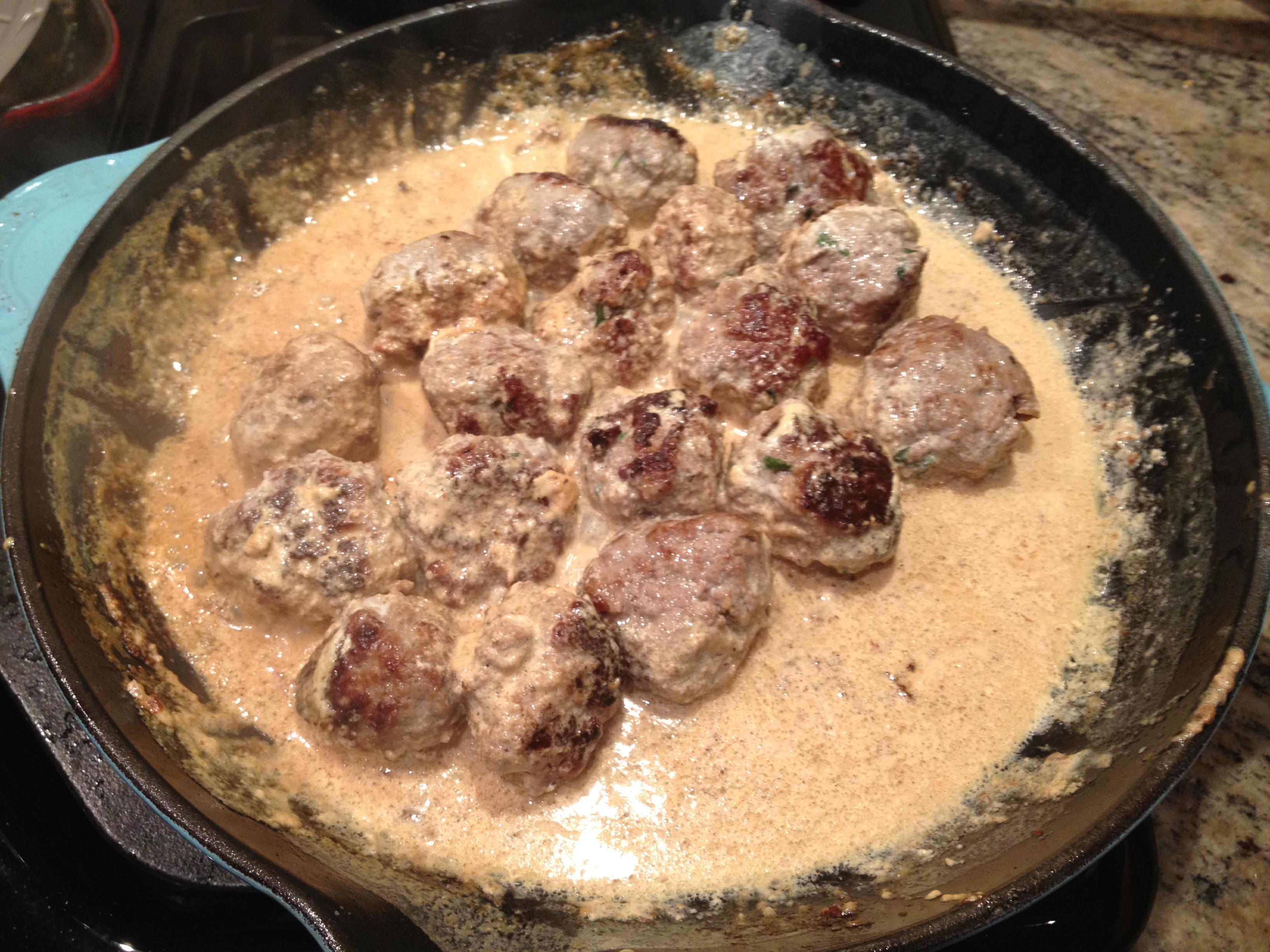 Recipe for Swedish Meatballs