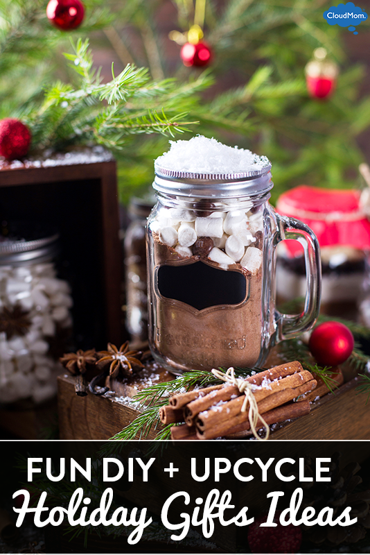 5 Fun DIY and Upcycle Holiday Gift Ideas