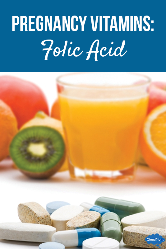 Vitamins During Pregnancy: Folic Acid