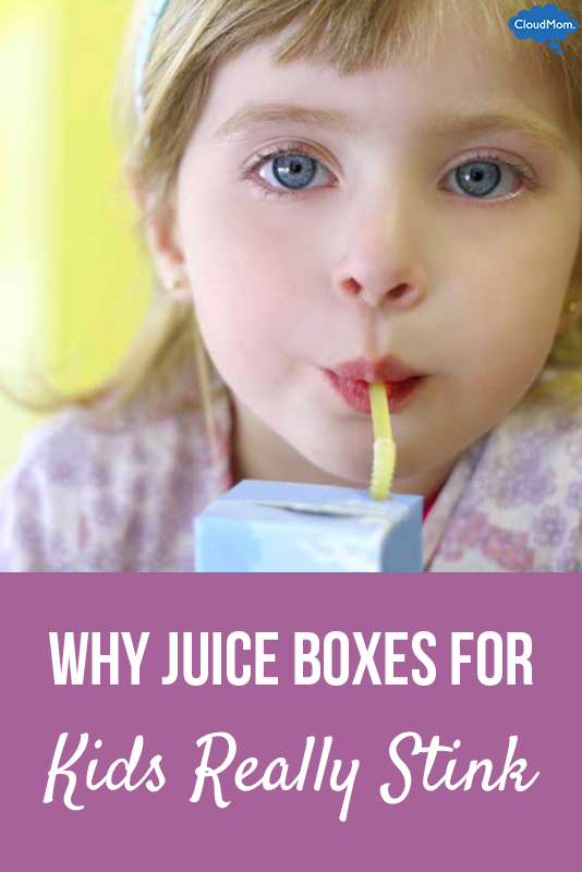 Why Juice Boxes For Kids Really Stink