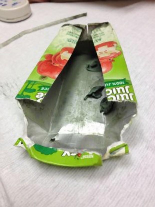 Slimy Juice Box