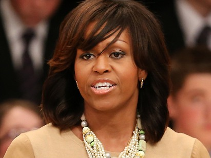 Michelle Obama's Bangs