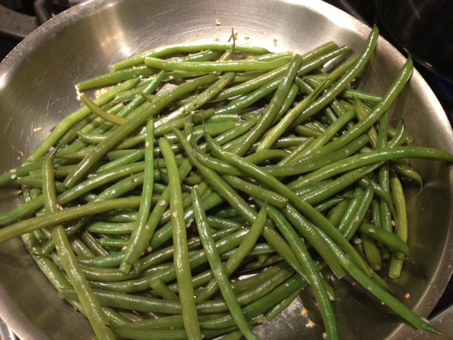 Sauteed Beans