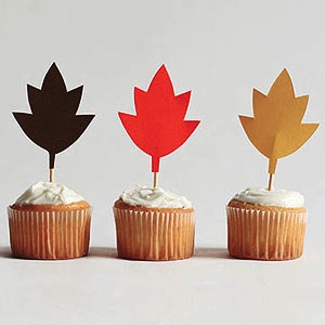 fall cupcakes DIY