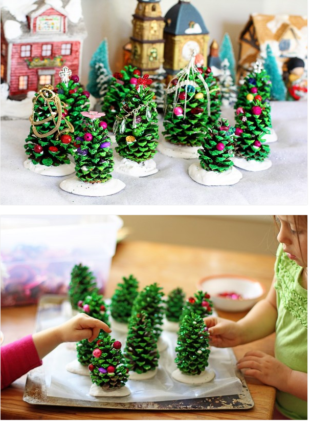 Christmas activities for kids tree decor