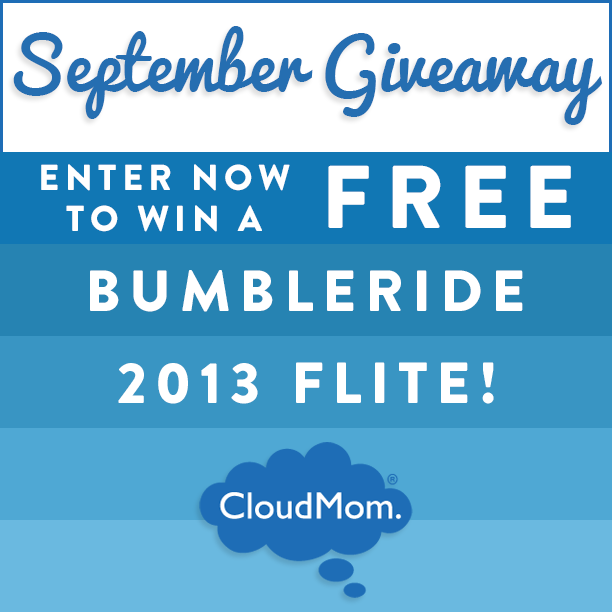 Enter now to win a FREE Bumbleride 2013 Flite at CloudMom.com!