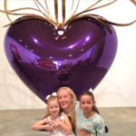 Jeff Koons at the Whitney with Kids