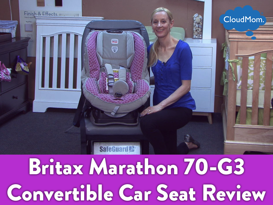 britax marathon 70 g3 convertible car seat review and demo cloudmom. Black Bedroom Furniture Sets. Home Design Ideas