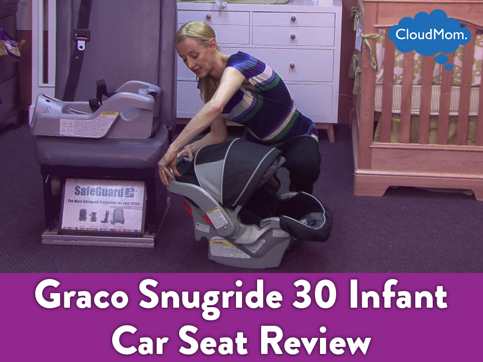 Graco Snugride 30 Infant Car Seat Review And Demo