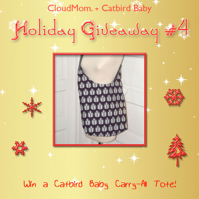 WIN a Catbird Baby carry-all tote at CloudMom.com!