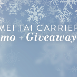 Mei Tai Baby Carrier giveaway