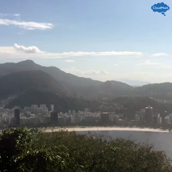 beautiful view in rio