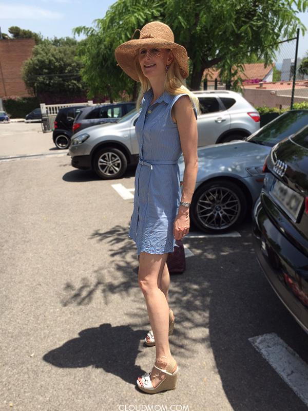 f950fc55919 Mom Fashion  High Heel Espadrille Sandals