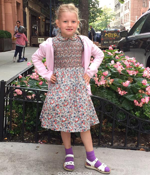 classic girls dress