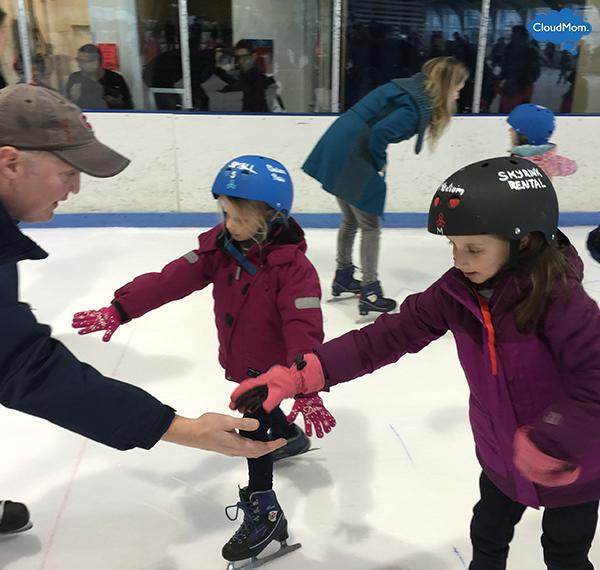 ice-skating