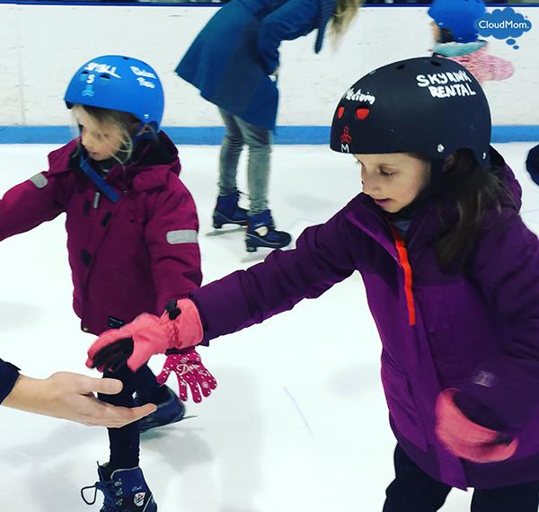 sisters-ice-skating