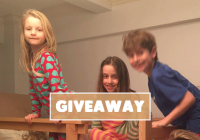 siblings and a giveaway