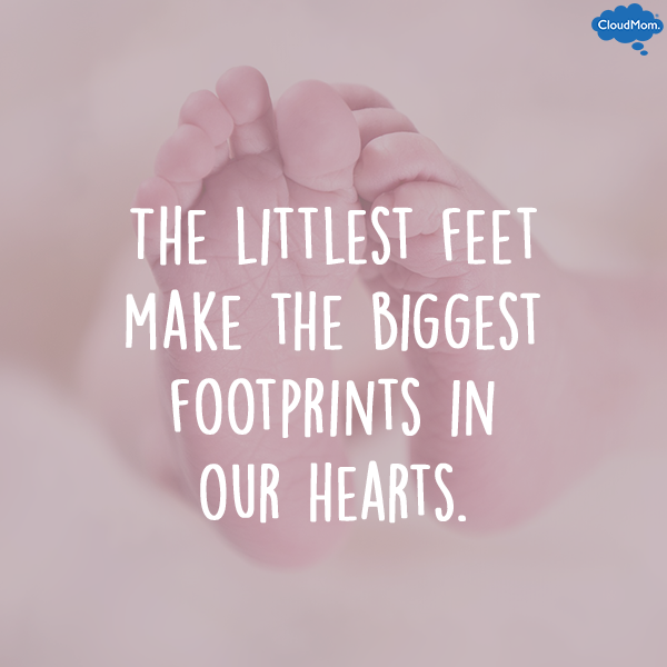 The-littlest-feet-make-the-biggest-footprints-in-our-hearts