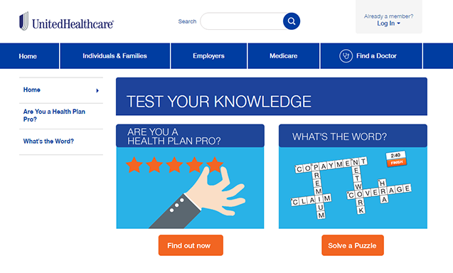 unitedhealthcare-test-your-knowledge