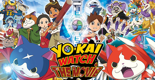 Anime for Kids: Yo-kai Watch: The Movie #Ad