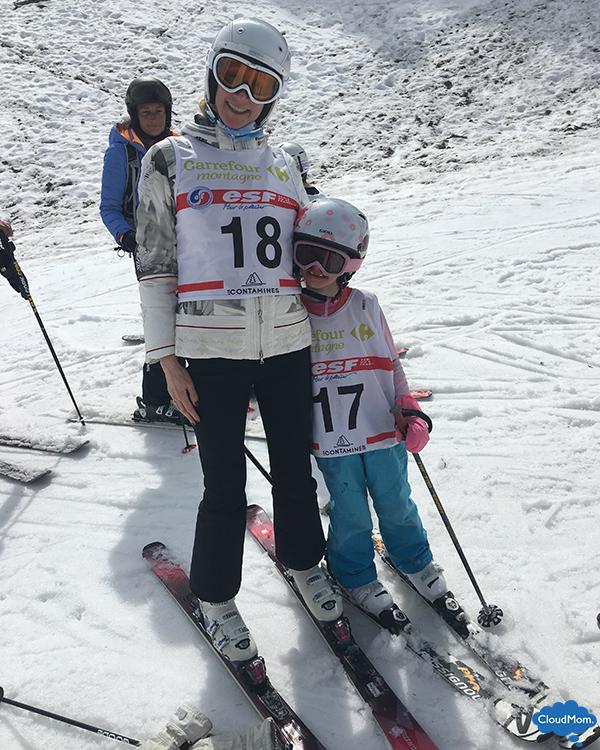 ski racing as a family