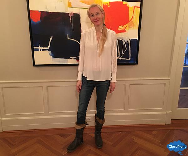 Ann Taylor white blouse