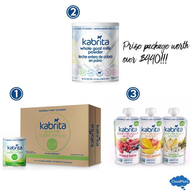 Kabrita giveaway prizes