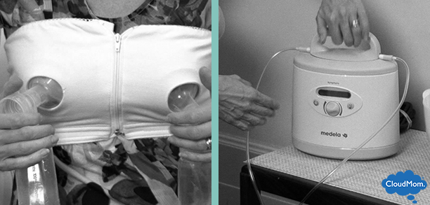 pumping breastmilk