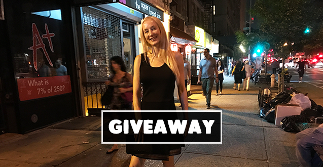 black dress for date night giveaway