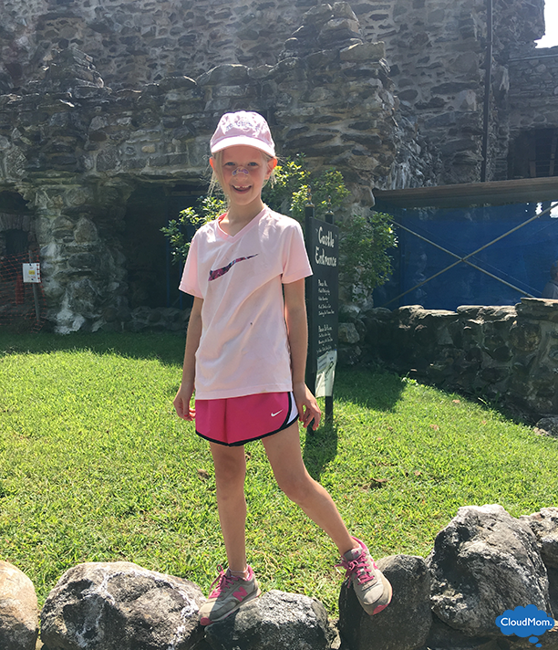 having fun at the gillette castle state park