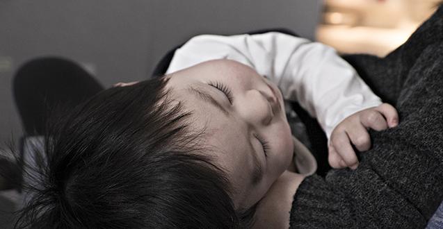 sleep training toddler
