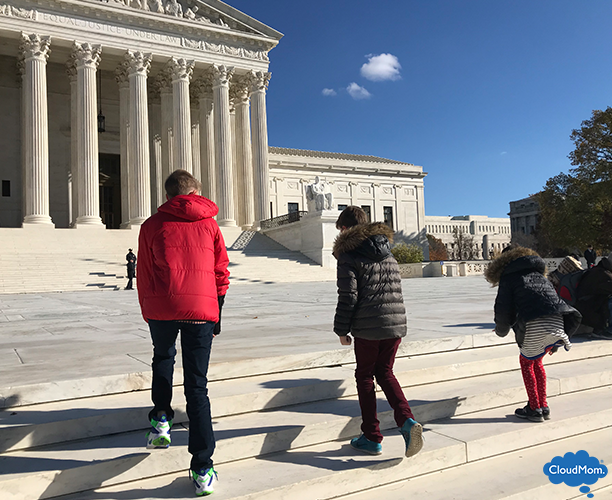 Visiting the Supreme Court with kids