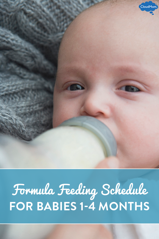 Formula Feeding Schedule for Babies 1 to 4 Months Old