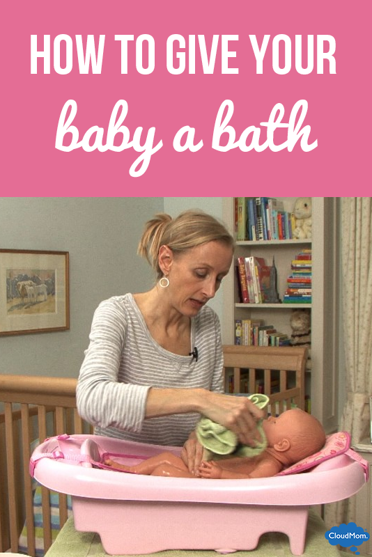 How to Give Your Baby a Bath