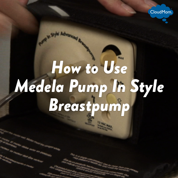 How to Use Medela Pump In Style Breastpump | CloudMom