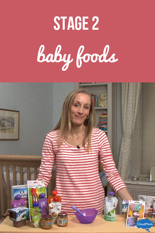 Stage 2 Baby Foods