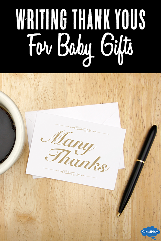 Writing Thank You Notes For Baby Gifts
