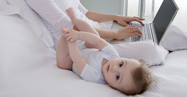 Can Photos of Babies on Facebook Hurt Your Career?