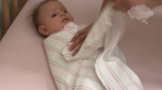 How to swaddle your baby.