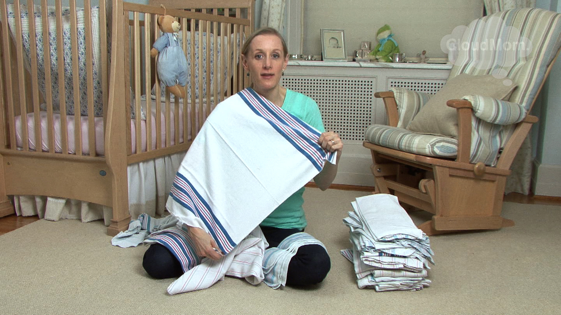 One Must Have For Baby: The Hospital Burp Cloth!